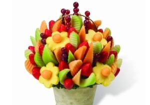 I want an edible arrangement! :)