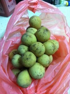 Longkong fruits