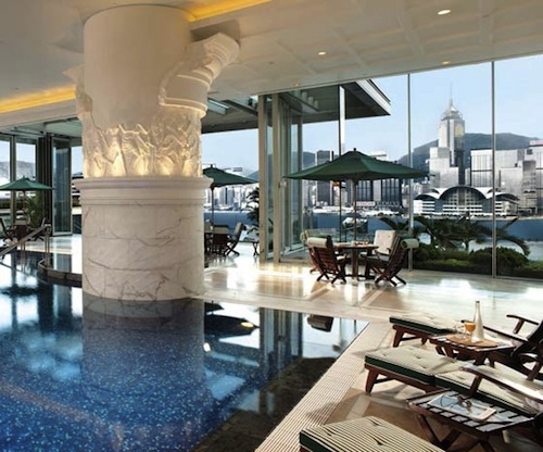 Peninsula Hong Kong pool