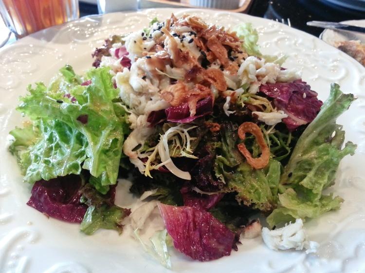Crab Salad Open Kitchen Hong Kong