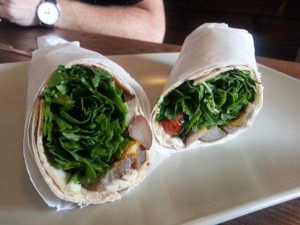 Veggie Spinner wrap
