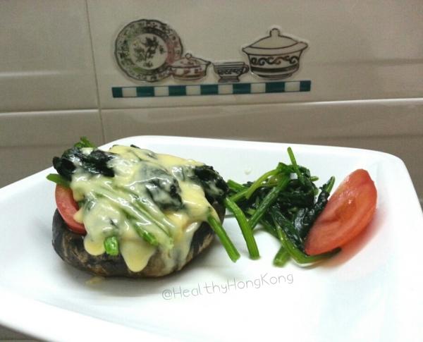 portobello mushroom burger cheese