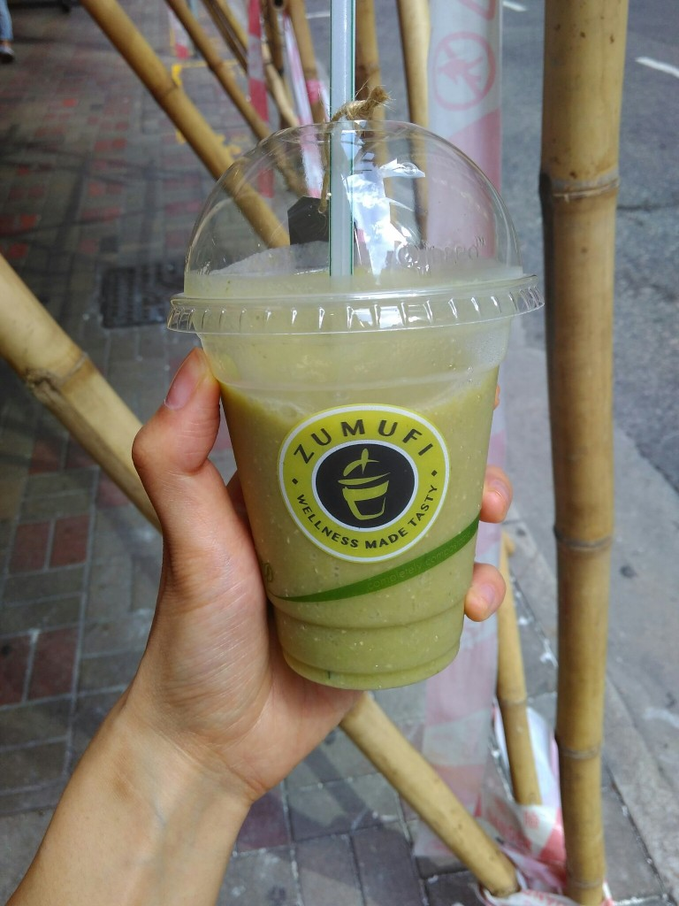 Zumufi Hong Kong green smoothie