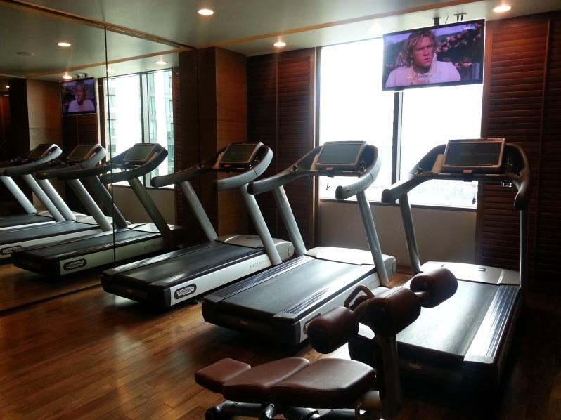 Healthy Hong Kong Siam Kempinski Bangkok Gym 20151114_095006