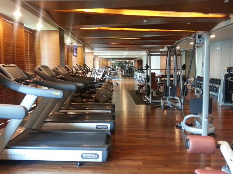 Healthy Hong Kong Siam Kempinski Bangkok Gym 20151114_095017
