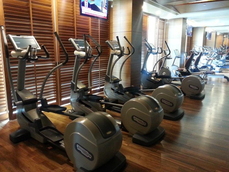 Healthy Hong Kong Siam Kempinski Bangkok Gym 20151114_095028