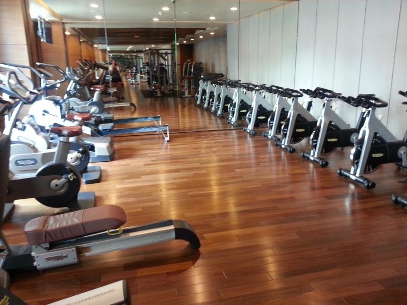 Healthy Hong Kong Siam Kempinski Bangkok Gym 20151114_095048
