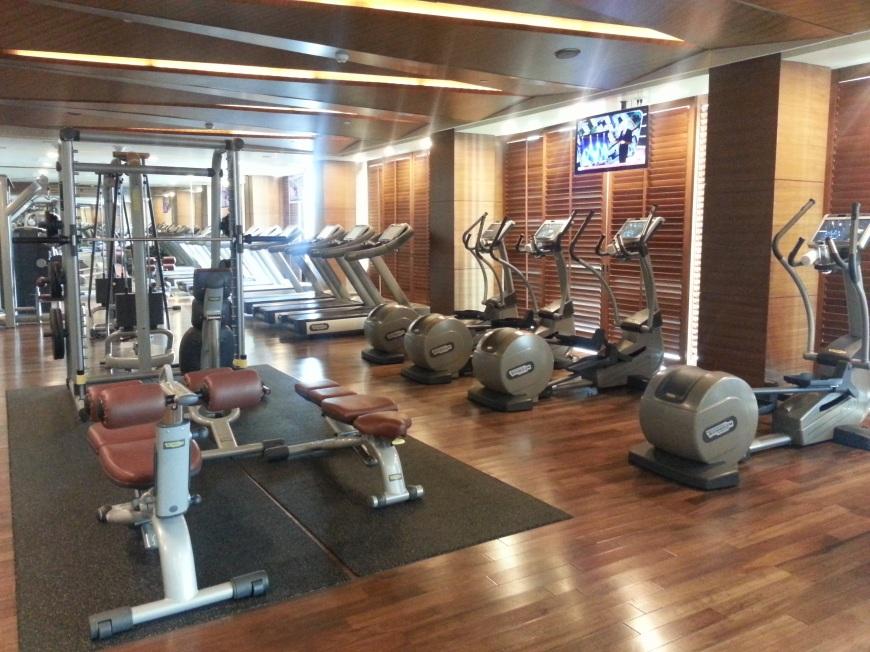 Healthy Hong Kong Siam Kempinski Bangkok Gym 20151114_095105