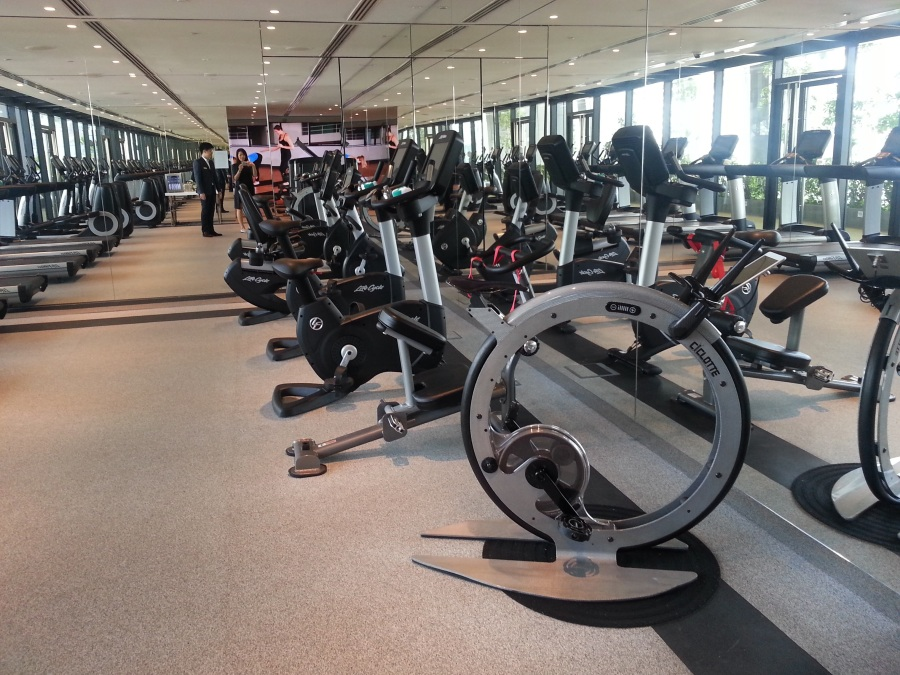 South Beach Singapore Hotel Gym 20160119_110202