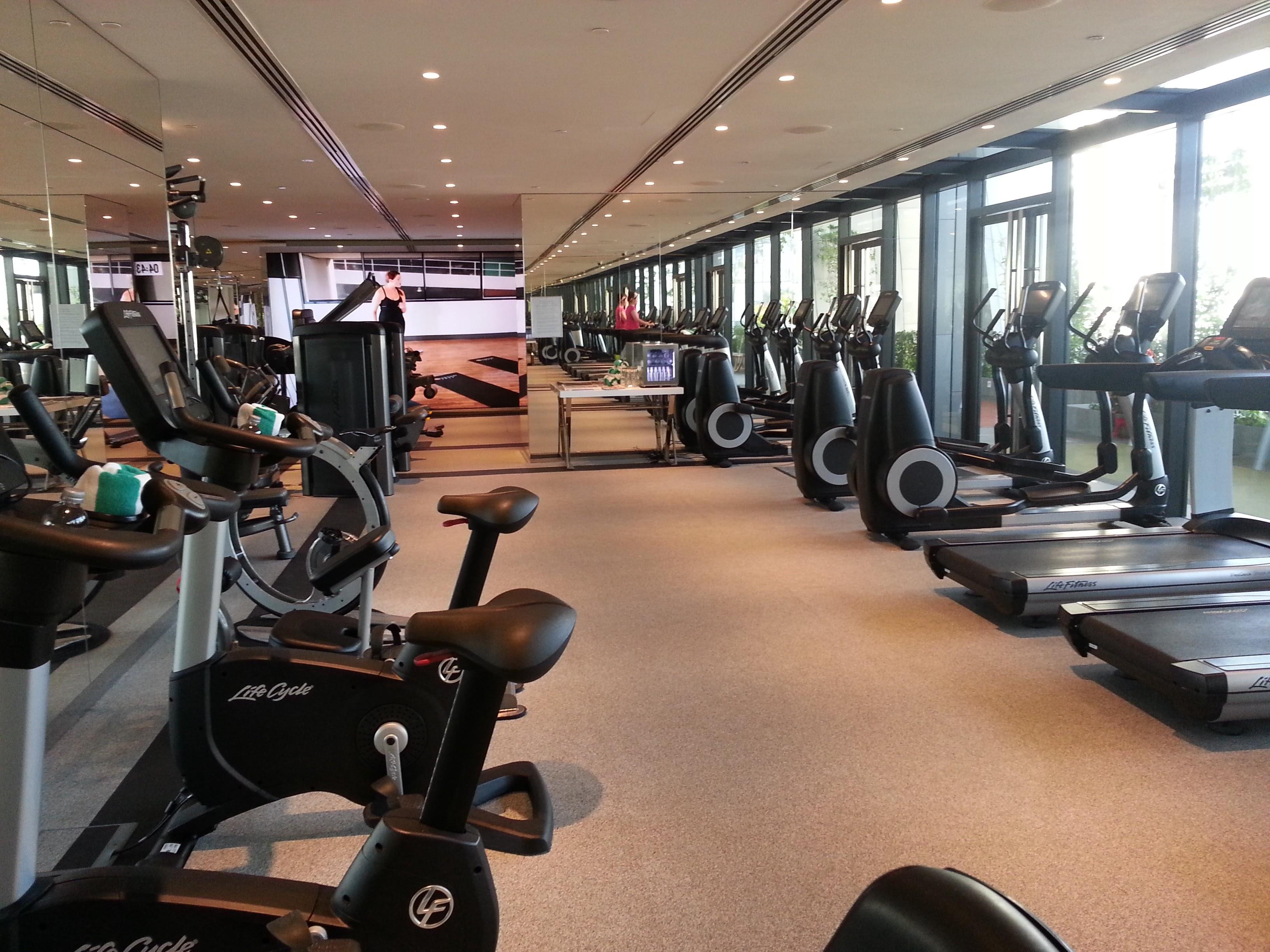 South Beach Singapore Hotel Gym 20160120_081448