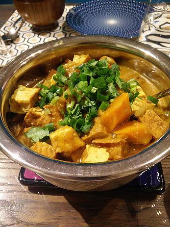 Tofu Pumpkin Curry - Veg Matters - Coby Liu