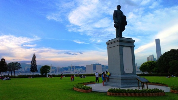 Sunset Sun Yat Sen Memorial Park 64