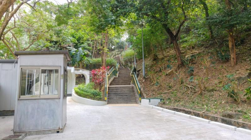 Choi Sai Woo Park Stairs