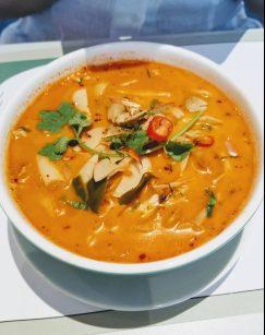 Organic tom yum soup